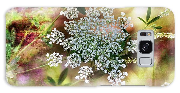 Queen Annes Lace Galaxy Case by Elaine Manley