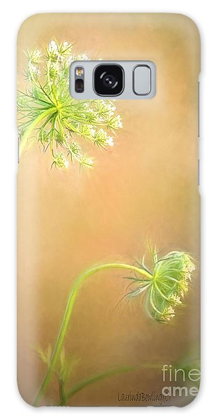 Queen Anne's Lace Galaxy Case by Laurinda Bowling