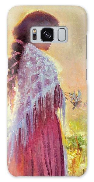 Dress Galaxy Case - Queen Anne's Lace by Steve Henderson
