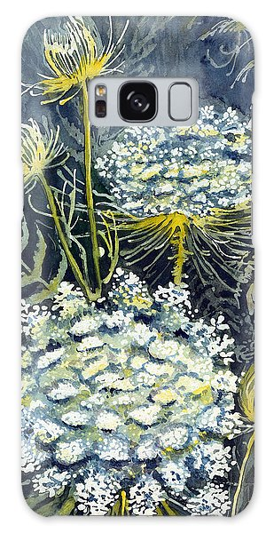 Queen Anne's Lace Galaxy Case