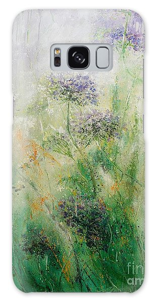 Queen Ann's Lace Galaxy Case