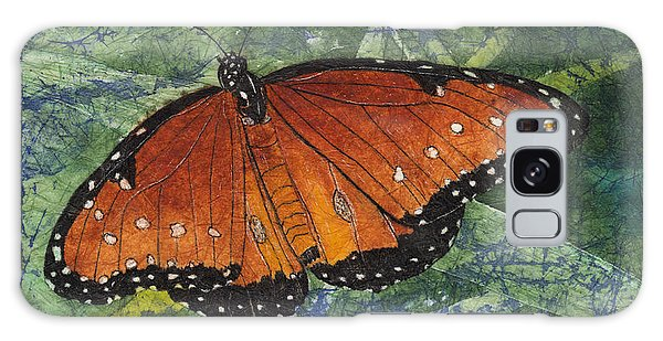 Queen Butterfly Watercolor Batik Galaxy Case