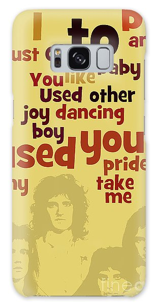 Any Galaxy Case - Queen. Can You Order The Lyrics? Dreamers Ball. by Drawspots Illustrations