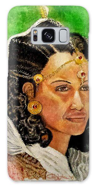 Queen Hephzibah  Galaxy Case by G Cuffia