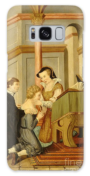Queen Mary I Curing Subject With Royal Galaxy Case