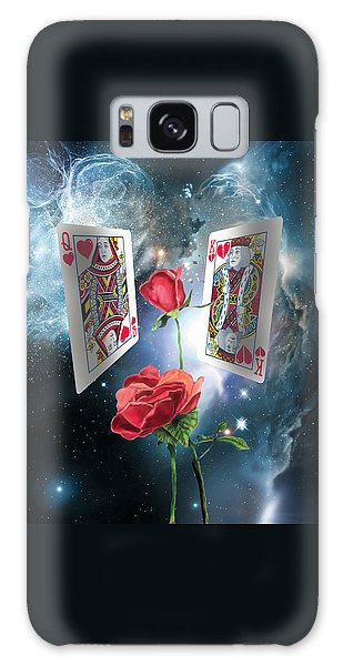Queen Of Broken Hearts Galaxy Case