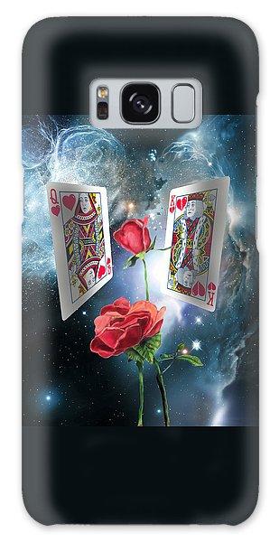 Queen Of Broken Hearts Galaxy Case