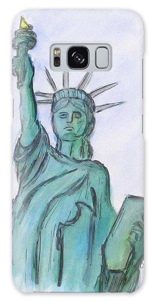 Queen Of Liberty Galaxy Case