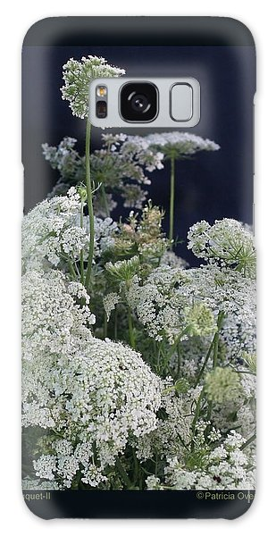 Queen's Bouquet-ii Galaxy Case by Patricia Overmoyer