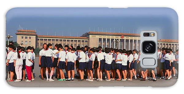 People's Republic Of China Galaxy Case - Queueing Up To View The Late Mao Zedong by Panoramic Images