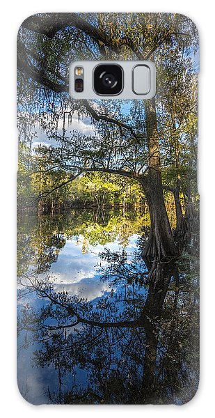 Ibis Galaxy S8 Case - Quiet Embrace by Marvin Spates