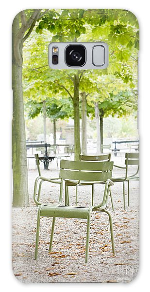 Quiet Moment At Jardin Luxembourg Galaxy Case