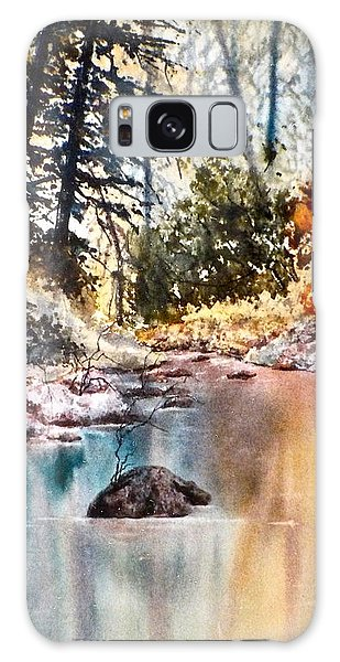 Quiet Reflections Galaxy Case by Carolyn Rosenberger