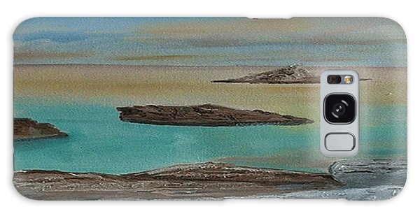 Quiet Tropical Waters Galaxy Case by Rod Jellison