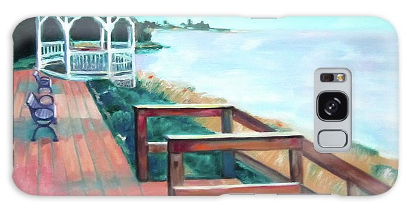 Online Shopping Cart Galaxy Case - Quiet Waters Park by Karen Francis