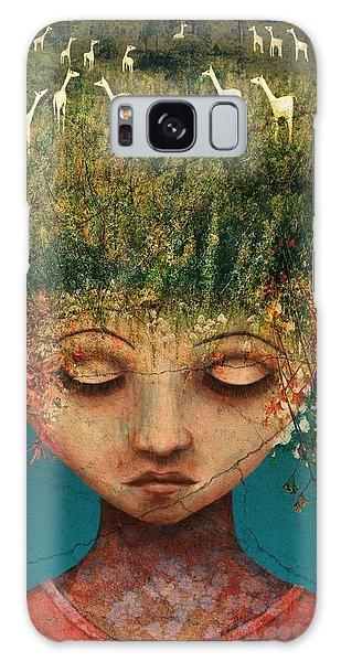 Hair Galaxy Case - Quietly Wild by Catherine Swenson