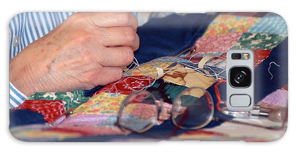 Quilter's Hands Galaxy Case