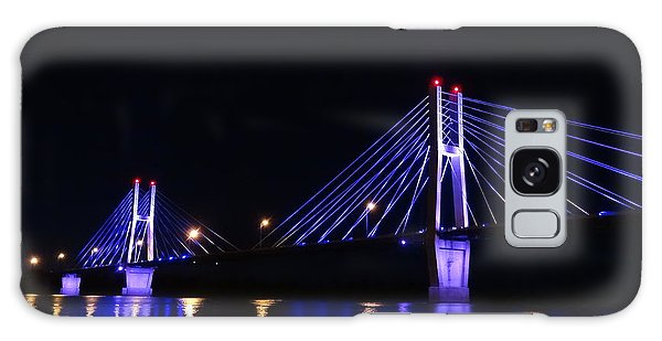 Quincy Bay View Light Reflection Galaxy Case by Justin Moore