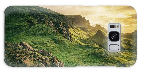 Quiraing Landscape 1 Galaxy Case
