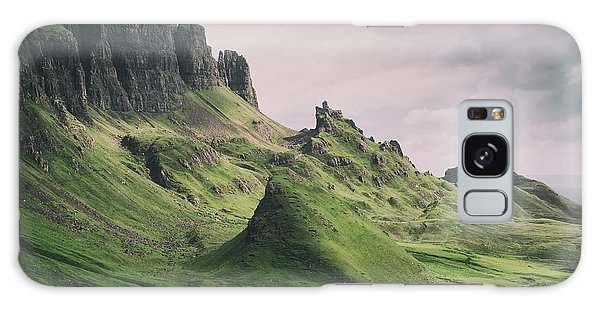 Quiraing Landscape 3 Galaxy Case