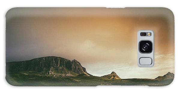 Quiraing Landscape 4 Galaxy Case