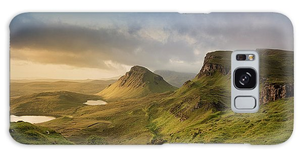 Quiraing Landscape 5 Galaxy Case