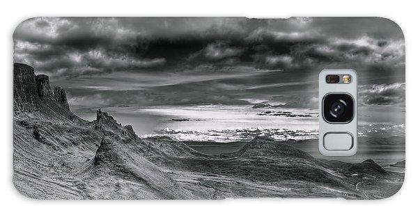 Quiraing On Isle Of Skye Scotland Galaxy Case by Gabor Pozsgai
