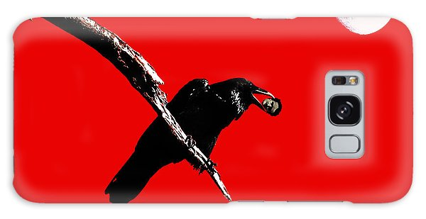 Quoth The Raven Nevermore . Red Galaxy Case