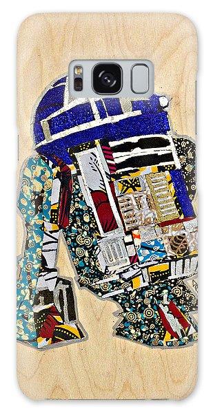 R2-d2 Star Wars Afrofuturist Collection Galaxy Case by Apanaki Temitayo M