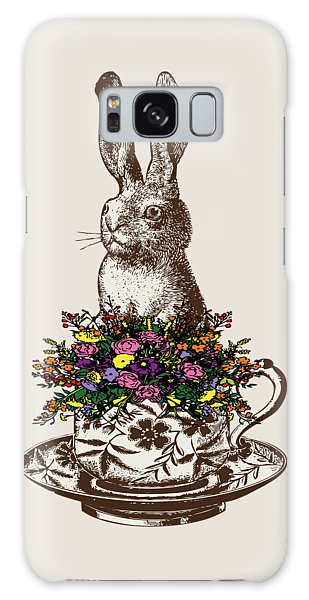 Rabbit In A Teacup Galaxy Case