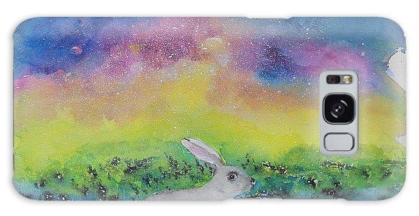 Rabbit In Galaxy 5 Galaxy Case