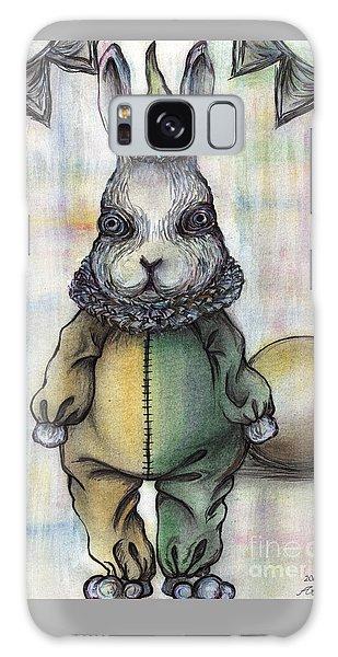 Rabbit Pierrot Galaxy Case