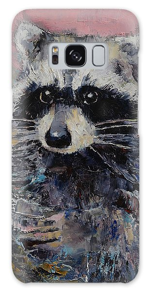 Raccoon Galaxy Case by Michael Creese