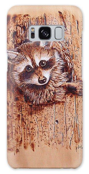 Raccoon Galaxy Case by Ron Haist