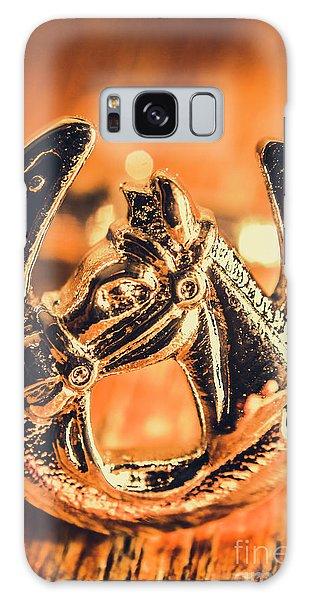 Pendant Galaxy Case - Racehorse Luck by Jorgo Photography - Wall Art Gallery