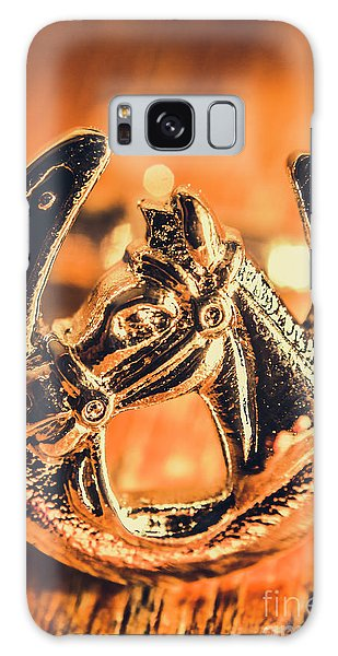 Equine Galaxy Case - Racehorse Luck by Jorgo Photography - Wall Art Gallery