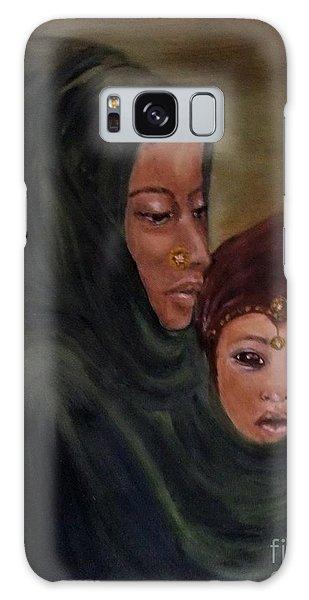 Rachel And Joseph Galaxy Case by Annemeet Hasidi- van der Leij