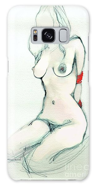 Rachel's Red Ropes - Erotic Art Galaxy Case