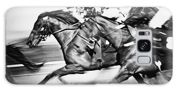 Racing Horses Galaxy Case