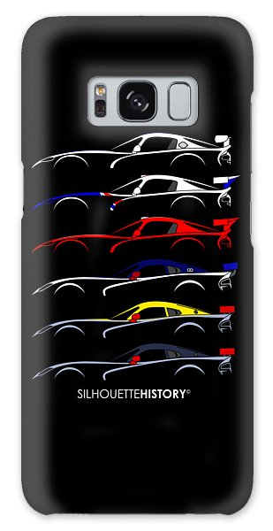 Racing Snake Silhouettehistory Galaxy Case