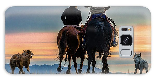 Racing To The Sun Wild West Photography Art By Kaylyn Franks Galaxy Case