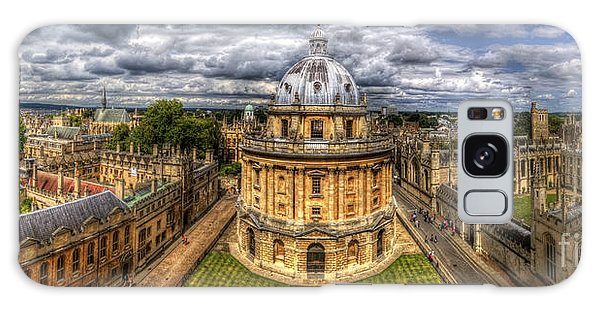 Radcliffe Camera Panorama Galaxy Case