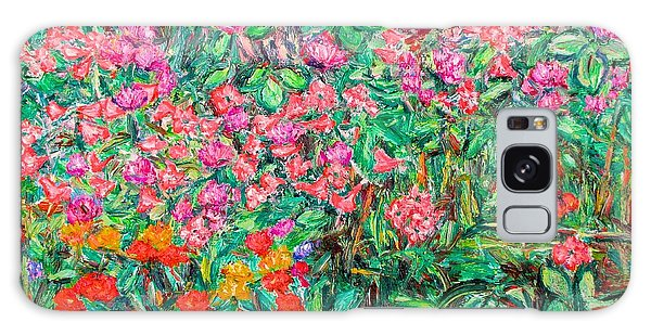 Radford Flower Garden Galaxy Case