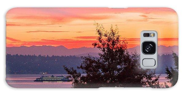 Radiance At Sunrise Galaxy Case