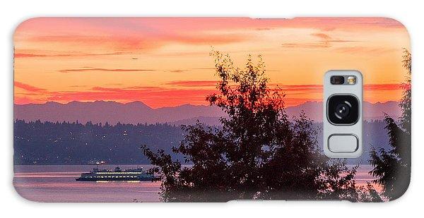 Radiance At Sunrise Galaxy Case by E Faithe Lester
