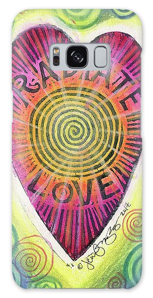 Radiate Love Galaxy Case