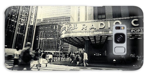 Radio City Music Hall Manhattan New York City Galaxy Case