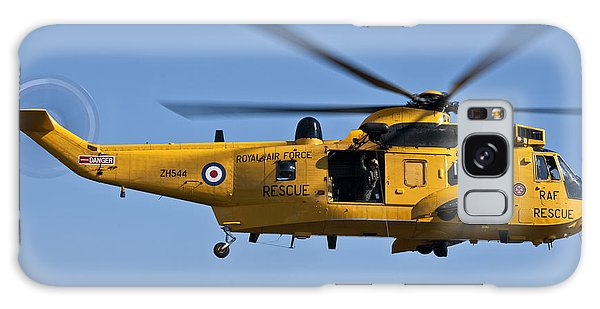 Raf Sea King Search And Rescue Helicopter 2 Galaxy Case