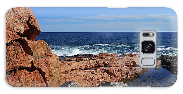 Chasm Galaxy Case - Rafe's Chasm Gloucester Ma North Shore Rocky by Toby McGuire