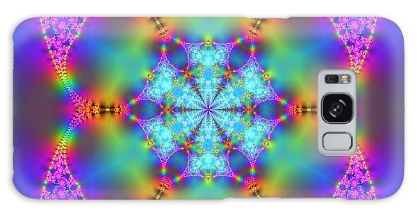 Galaxy Case featuring the digital art Ragamalamandala by Robert Thalmeier